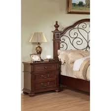 oak finish nightstands u0026 bedside tables for less overstock com
