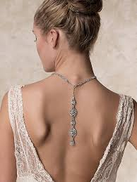back jewelry necklace images Baby got back beautiful back necklaces bridal accessories jpg