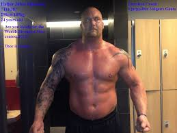 most imposing looking man on the planet 400 pounds 180kg at only