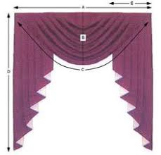 Fishtail Swags Valances Make A Fishtail Valance Swag Curtains Curtain Patterns And Fishtail