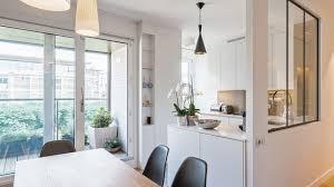 verriere interieur cuisine cuisine avec verriere interieur mineral bio