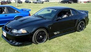 2004 Mustang Cobra Black Black 2003 Saleen S281 Cobra Ford Mustang Coupe Mustangattitude