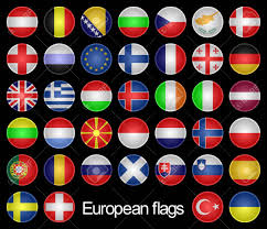 European Flags Images Complete Set Of The Buttons As Flags Of The European Countries