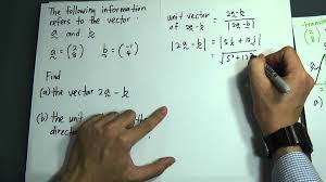 spm form 5 add maths vector 1 paper 1 youtube
