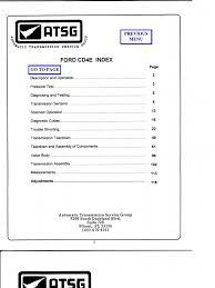 manual de reparacion para transmision automatica modelo cd4e