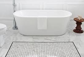 White Carrera Marble Bathroom - italian white carrara tile or arctic white marble tile for your