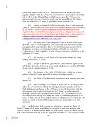 Letter Of Credit Validity fifth amendment by activision