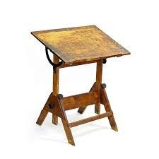 adjustable height drafting table vintage adjustable height drafting table chairish