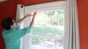 how to weatherize windows with plastic film insulation by home