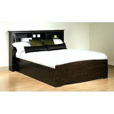 King Headboard With Storage Headboard With Storage Size Storage Bed Plus Bookcase