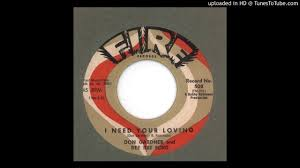 gardner don u0026 dee dee ford i need your loving 1962 youtube