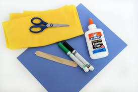 easy sunflower kids u0027 craft with tissue paper
