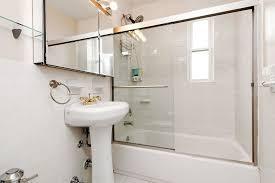 Kohler Pedestal Bathroom Sinks - full bathroom with handheld shower head by josie200010013 zillow