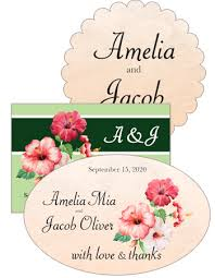wedding tags unique wedding favors gift tags candy bags customizable wedding