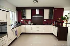 pictures of kitchens modern two tone kitchen cabinets two wall