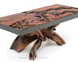 Slab Coffee Table by Unique Coffee Table Etsy