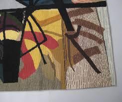 Tapis Salon Multicolore by Tapis Mural En Laine Multicolore 1950 Design Market
