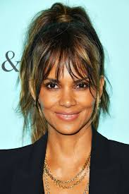 feathered front of hair 112 hairstyles with bangs you ll want to copy celebrity haircuts