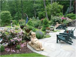Landscaping Ideas For Backyard by Backyards Excellent Outdoor Landscape Design Waterfall Intricate