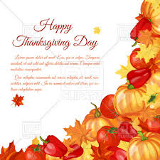 thanksgiving day background royalty free vector clip image