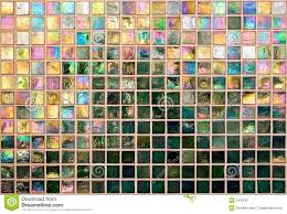 iridescent tile wall royalty free stock photography image 3435187