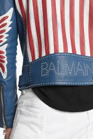 American Flag Jeans Leather Biker Jacket With American Flag Mens Leather Jackets