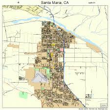 santa california map santa california map my