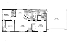 Mobile Home Floor Plans Homes Ideas House Plans 48113 Floor Plans With Garage