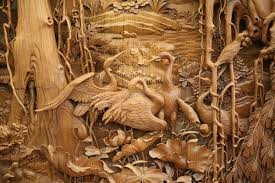 the exquisite detail of traditional dongyang wood carving