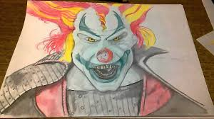 jack clown halloween horror nights jack is back a drawing tutorial and some machine fun at