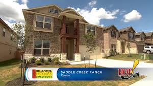 texas ranch homes bella vista homes at saddle creek ranch in cibolo tx youtube