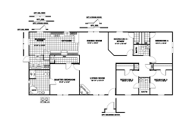 16 X 80 Mobile Home Floor Plans by Clayton Single Wide Mobile Homes Floor Plans Bedroom Inspired