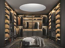 u shaped walk in closet design entrancing images of bedroom