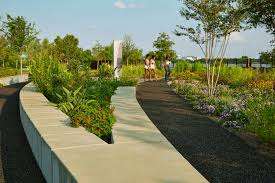 Botanical Gardens New Orleans by Crescent Park U2013 Hargreaves Associates