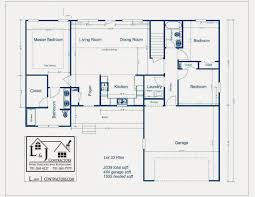 ranch split bedroom floor plans with house plan one