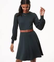 sleeve black dress women s dresses loft