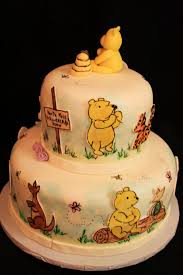 winnie the pooh cakes layers of winnie the pooh cake
