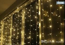 small globe string lights tree led wedding stage