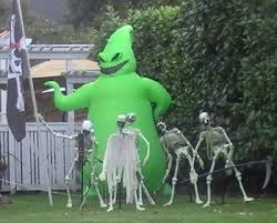 nightmare before christmas yard inflatables x mas