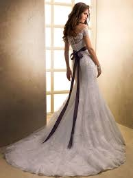 Purple Wedding Dresses Collections Of Purple Bride Grooms Dresses With Red Belt