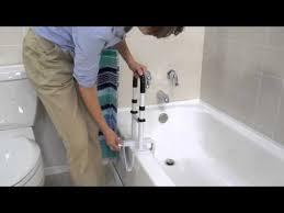 Bathtub Bars Drive Medical Bathtub Shower Grab Bar Safety Rail Parallel Model