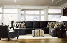 Klaussner Sectionals Sectional Sofa With Left Side Chaise By Klaussner Wolf And