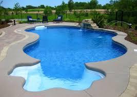 bedroom excellent pool shapes fiberglass pools and bean shaped