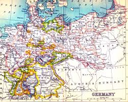 German States Map by Railways In War Part 2 German State Railway Preparations For