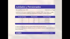 www anses calendario pago a jubilados pensionados 2016 cronograma de pagos anses pensiones no contributivas youtube