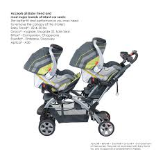 strollers for babies amazon com baby trend sit n stand carbon tandem