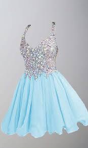 blue graduation dresses v neck rhinestone blue graduation dress ksp387 ksp387