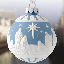 wedgwood nativity porcelain ornament sterling collectables