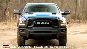Ford Raptor Competitor - 2017 2018 ford raptor vs ram rebel colorado zr2 tacoma trd