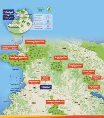 Costa Rica Airports Map Budget Car Rental Hotel Dreams Las Mareas Guanacaste Costa Rica